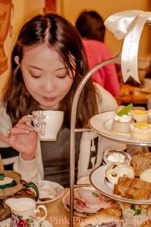 Jessica at Secret Garden High Tea