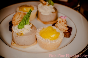 Secret Garden High Tea Sweets