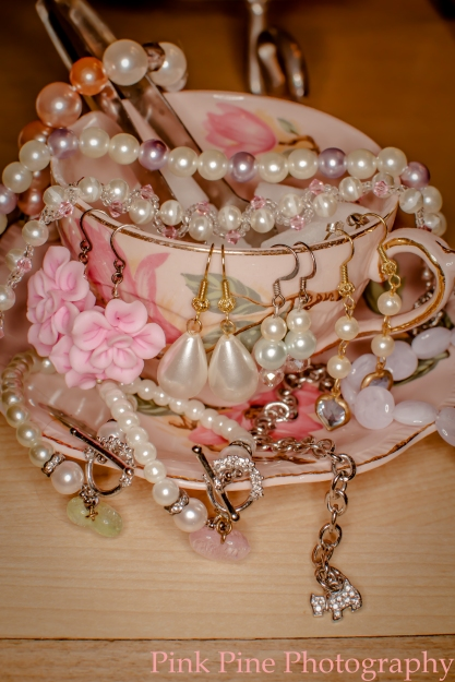 Jessica's Tuesday Cats Jewelry shot at The Secret Garden Tea Company